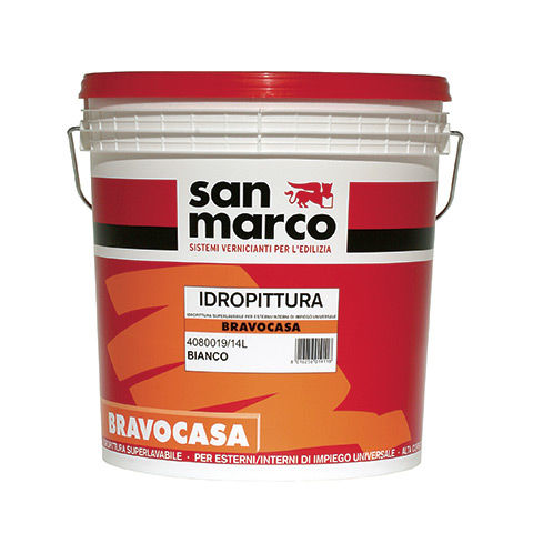 decorative paint / protective / for walls / exterior
