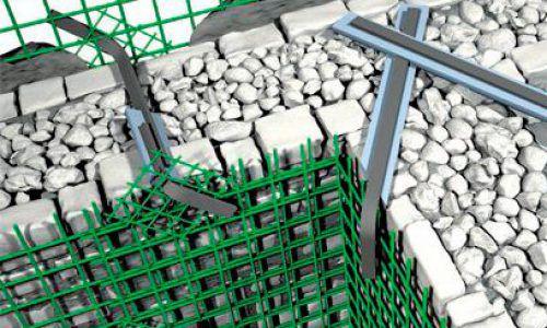 glass fiber-reinforced plastic reinforcement grid / protective