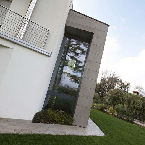 tilt-and-turn window / fixed / wooden / aluminum