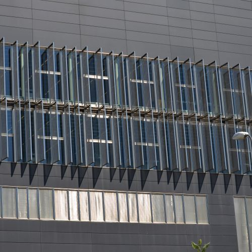 Wire mesh solar shading / stainless steel / for facades / vertical Costacurta S.p.A.-VICO