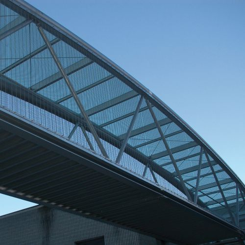 Walkway woven wire fabric / stainless steel / elongated mesh Costacurta S.p.A.-VICO