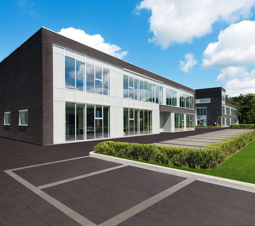 outdoor flexible tile / floor / composite / matte