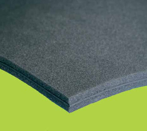 Thermal-acoustic insulation / panel / polyurethane / high-resistance AKUSTIK GUM SLIK N.D.A. NUOVE DIMENSIONI AMBIENTALI