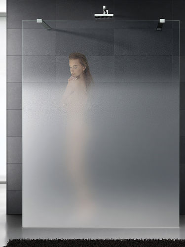 shower glass panel / translucent