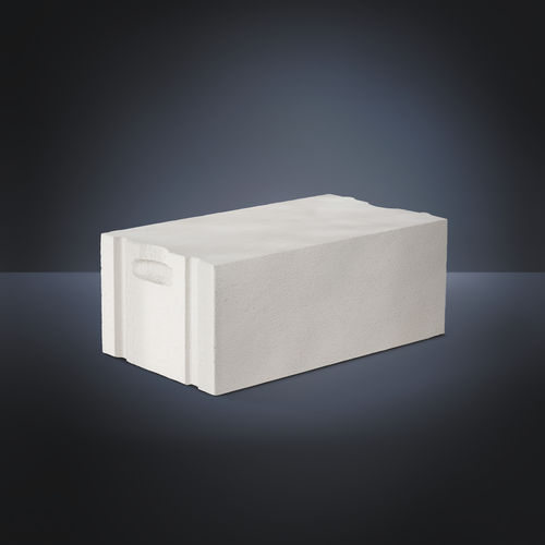 Cellular concrete block / for load-bearing exterior walls / insulated / thermal stone PLANBLOCK XELLA - YTONG