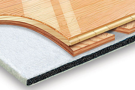 wooden sports flooring / for indoor use / for multipurpose gyms