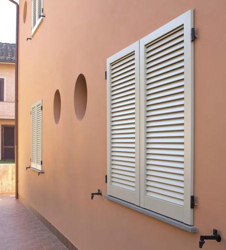 swing shutter / louvre / aluminum / window