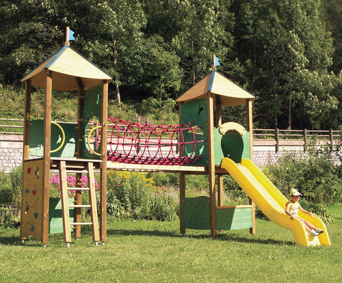 public entity play structure / wooden / modular