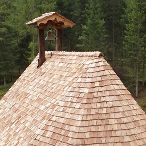 wood shingle / for roofs