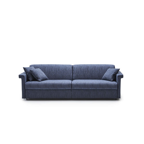 sofa bed / contemporary / fabric / contract