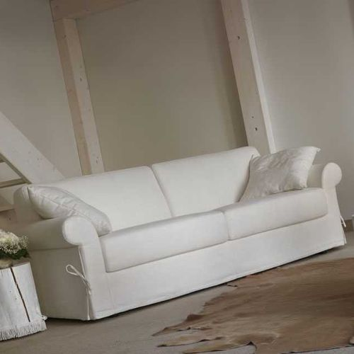 sofa bed / traditional / fabric / 2-person