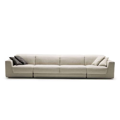 modular sofa / bed / contemporary / fabric