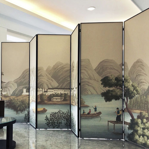traditional screen / wooden / custom / portable