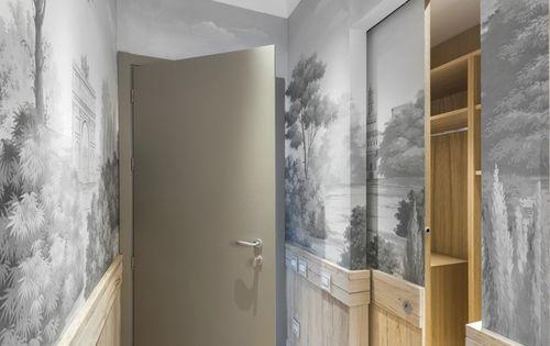 Traditional wallpaper / patterned / handmade VIEW OF SEMPIONE PARK Misha handmadewallpaper