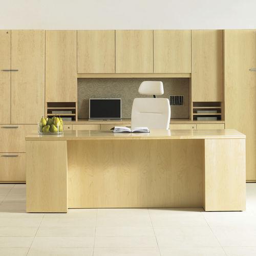 commercial desk and storage set