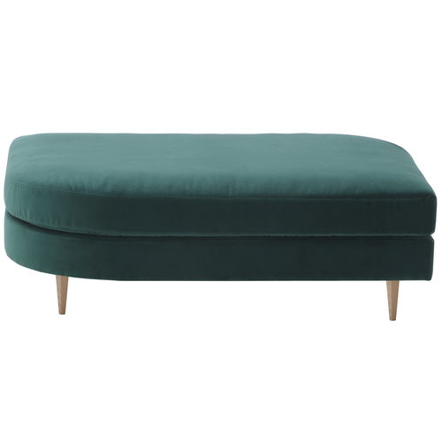 traditional upholstered bench / synthetic leather / for public buildings