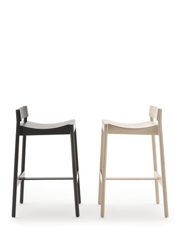 contemporary bar chair / wooden / commercial