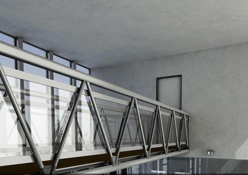 modular walkway / aluminum / indoor