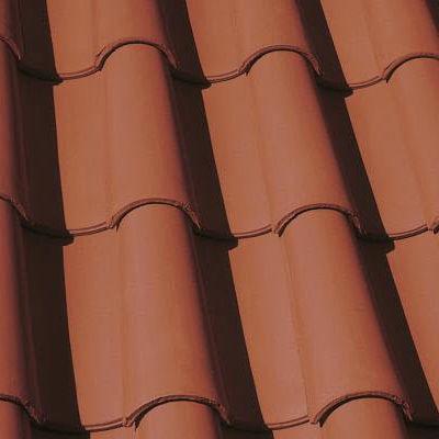 Roman roof tile / clay ERGOLDSBACHER MÖNCH- UND NONNENZIEGEL ERLUS