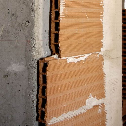 partition brick / for partition walls