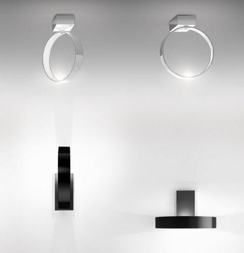 contemporary wall light / aluminum / methacrylate / LED