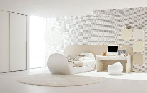 white children's bedroom furniture set / unisex