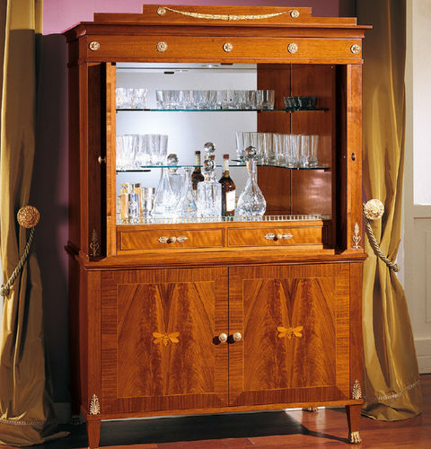 classic bar cabinet / wooden