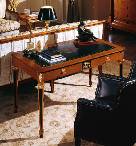 leather desk / Empire style