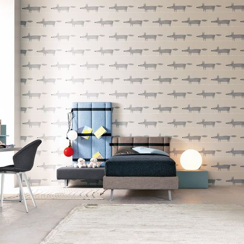 white children's bedroom furniture set / blue / wooden / boy's