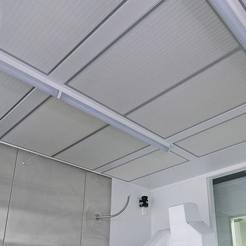 contemporary ceiling light / linear / polycarbonate / LED