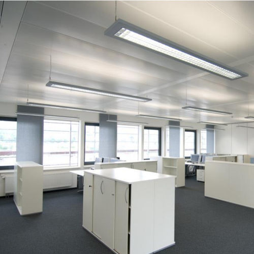 steel suspended ceiling / stainless steel / aluminum / panel