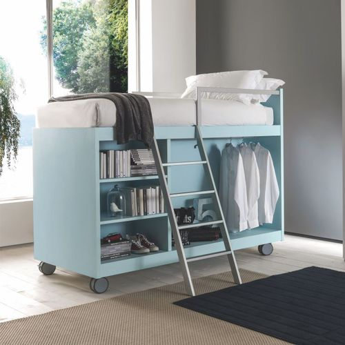 loft bed / single / contemporary / boy's
