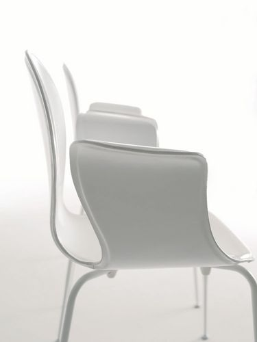 contemporary chair / adjustable / with armrests / stackable