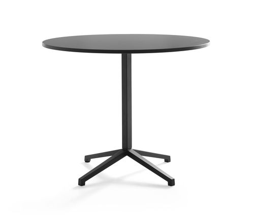 contemporary bistro table / wooden / MDF / melamine