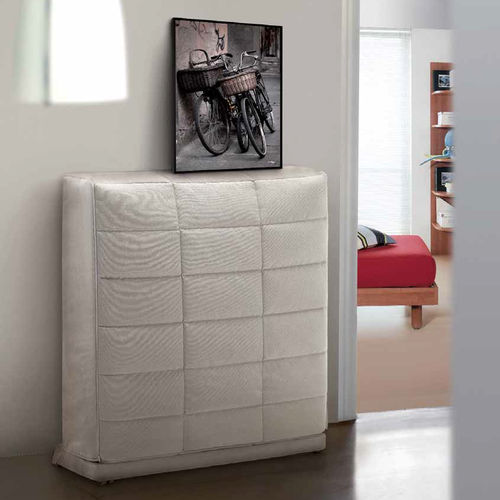 wall bed / single / contemporary / upholstered