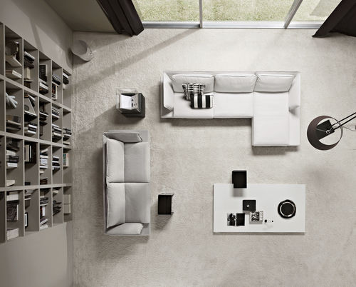 Modular sofa / corner / contemporary / steel FELIX by Carlo Bimbi & Carlo Sironi Polaris