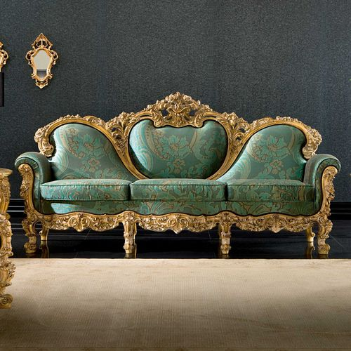 classic sofa / fabric / for hotels / contract