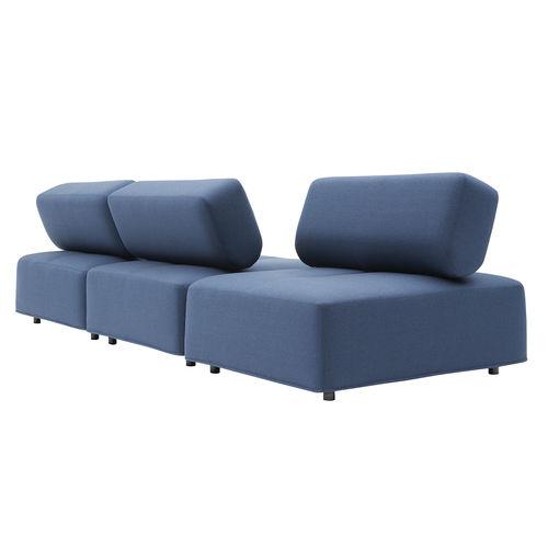 modular sofa / contemporary / fabric / for offices