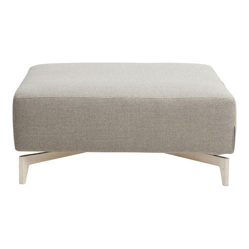 contemporary ottoman / fabric / indoor