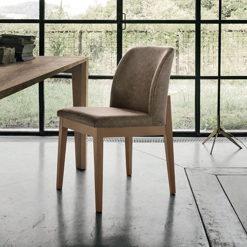 Contemporary chair / upholstered / wooden SALISBURGO Target Point New