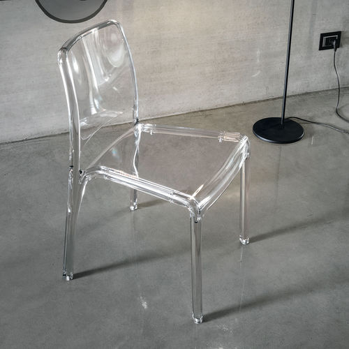 Contemporary chair / polycarbonate FUTURA Target Point New