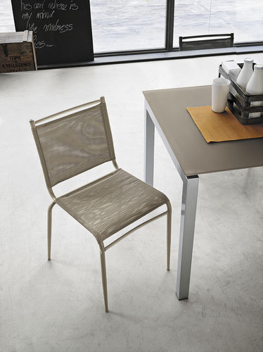 Contemporary chair / metal / plastic / painted metal YUPPIE DU Target Point New