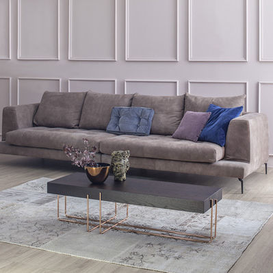 contemporary coffee table / wooden / metal / MDF