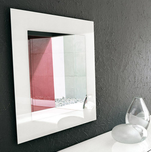 wall-mounted mirror / traditional / rectangular / square