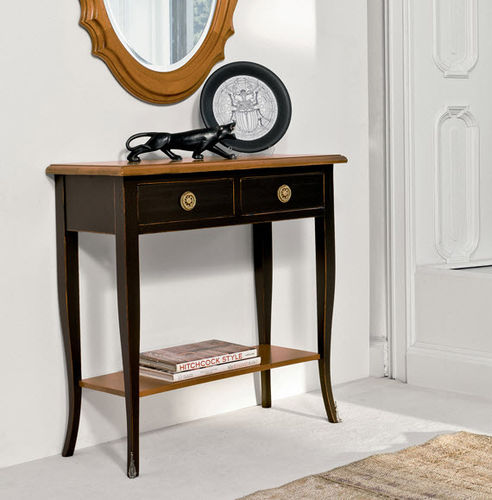 traditional sideboard table / wooden / rectangular