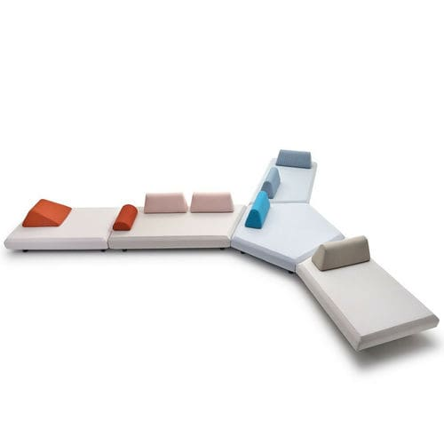 modular sofa / contemporary / for reception areas / outdoor