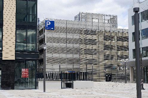 concrete solar shading / for facades