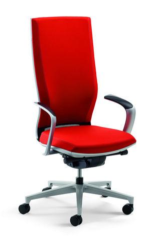Contemporary office armchair / fabric / star base MOTEO PERFECT by Jörg Bernauer Klöber