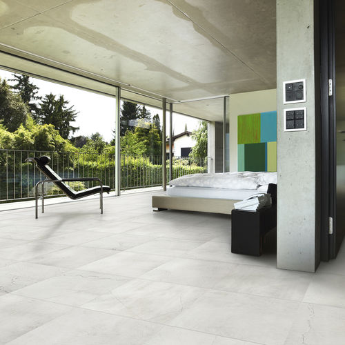 indoor tile / floor / porcelain stoneware / 60x60 cm