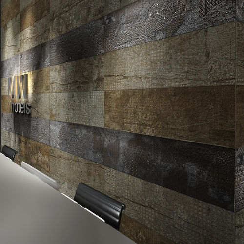 indoor tile / wall / porcelain stoneware / 30x90 cm